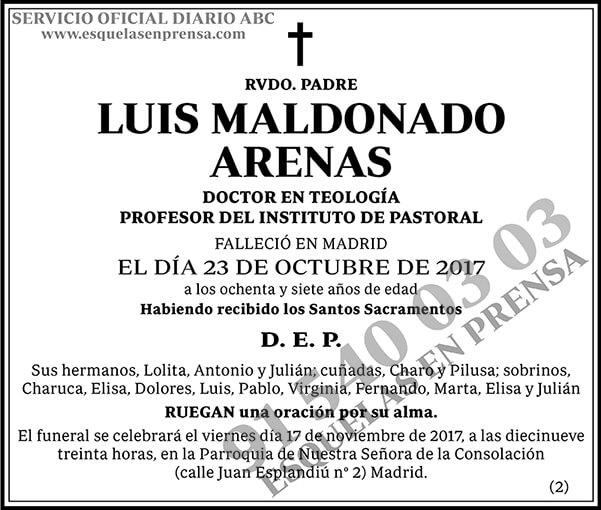 Luis Maldonado Arenas